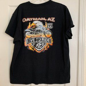 NWOT Choppers Motorcycle Mens Sz XL Tee Oatman, AZ